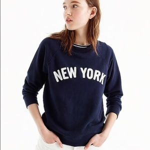 NWT NEW YORK Crewneck Sweatshirt